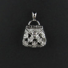 Load image into Gallery viewer, Diamond Handbag Pendant