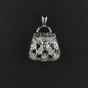 Diamond Handbag Pendant
