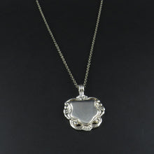 Load image into Gallery viewer, Silver Shield Pendant