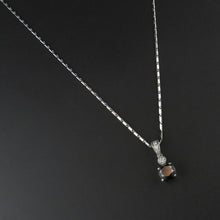 Load image into Gallery viewer, Round Black Diamond Pendant