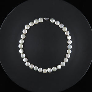 Fresh Water Disc Pearl Strand