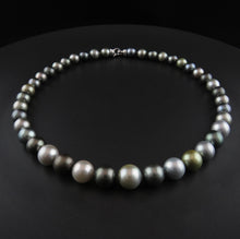 Load image into Gallery viewer, Tahitian Multi-Coloured Pearl Strand
