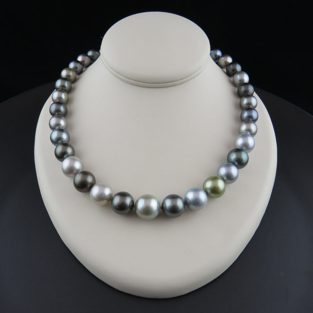 Tahitian Multi-Coloured Pearl Strand
