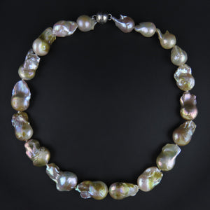 Baroque Freshwater Cultured Pearl Strand