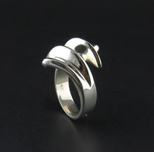 Load image into Gallery viewer, Silver Wrap Ring