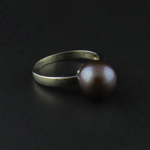 Load image into Gallery viewer, Black Pearl Ring