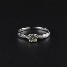 Load image into Gallery viewer, Diamond Crossover Ring