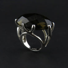 Load image into Gallery viewer, Large Silver Dress Ring