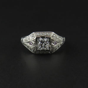 Antique Look Diamond Ring