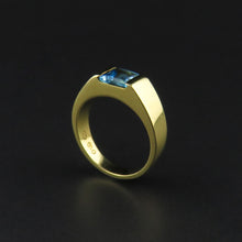 Load image into Gallery viewer, Topaz Gold Ring