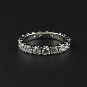 Full Diamond Eternity Band
