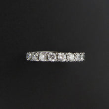 Load image into Gallery viewer, Full Diamond Eternity Band