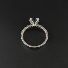 Load image into Gallery viewer, Platinum and White Gold Ring