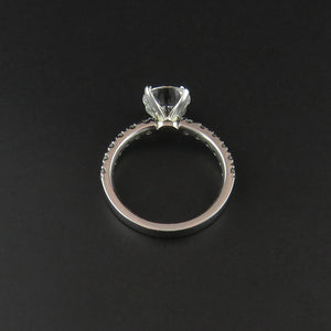Platinum and White Gold Ring