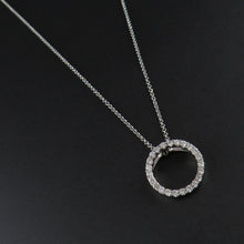 Load image into Gallery viewer, Diamond Circle Pendant
