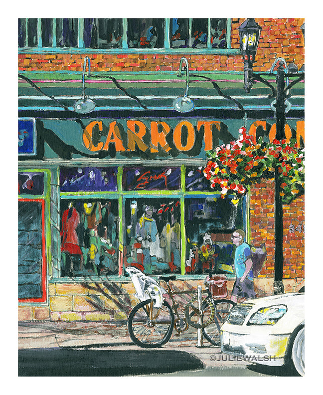 Carrot Common Art Print-Prints-WorkShopGallery