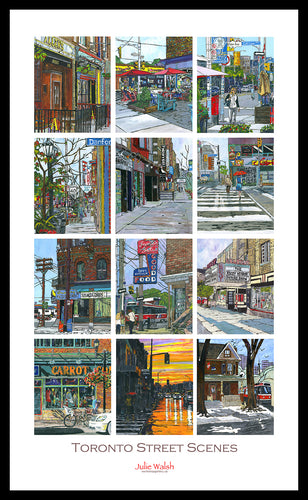 Street Scene Collection Poster - Framed Art-Framed Art-WorkShopGallery