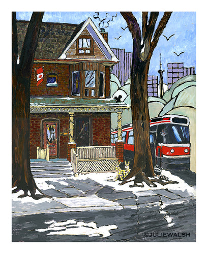 Toronto Art Print-Prints-WorkShopGallery