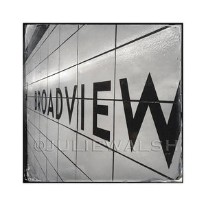 Broadview Station Photo Panel
