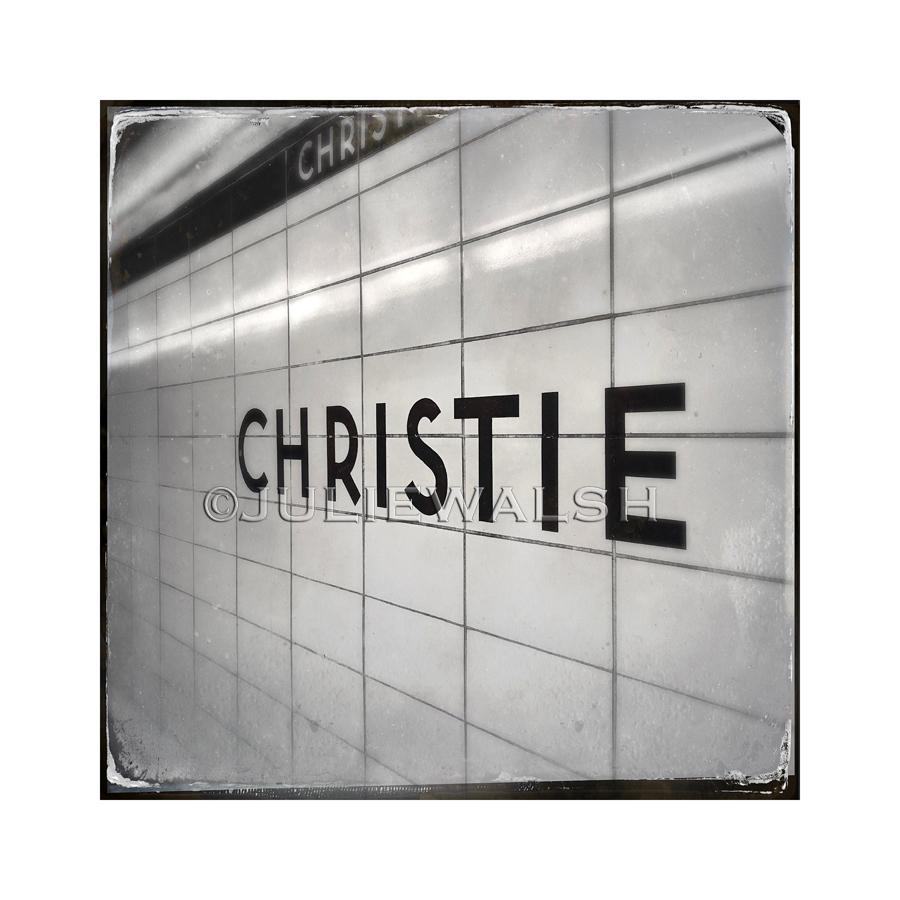 Christie Subway Station Photo Panel-Photo-WorkShopGallery