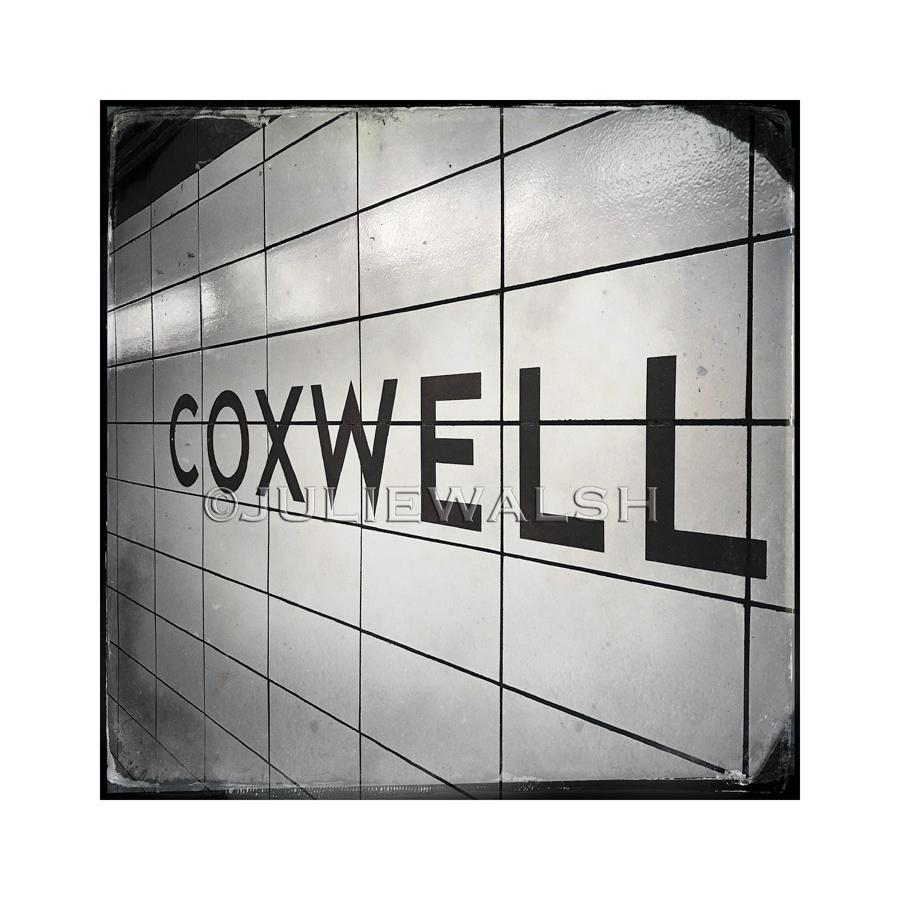 Coxwell Subway Station Photo Panel