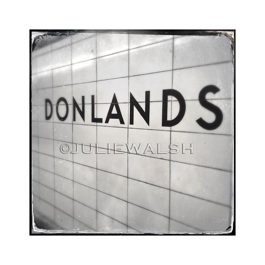 Donlands Subway Station Photo Panel-Photo-WorkShopGallery