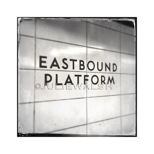 Eastbound Subway Photo Panel