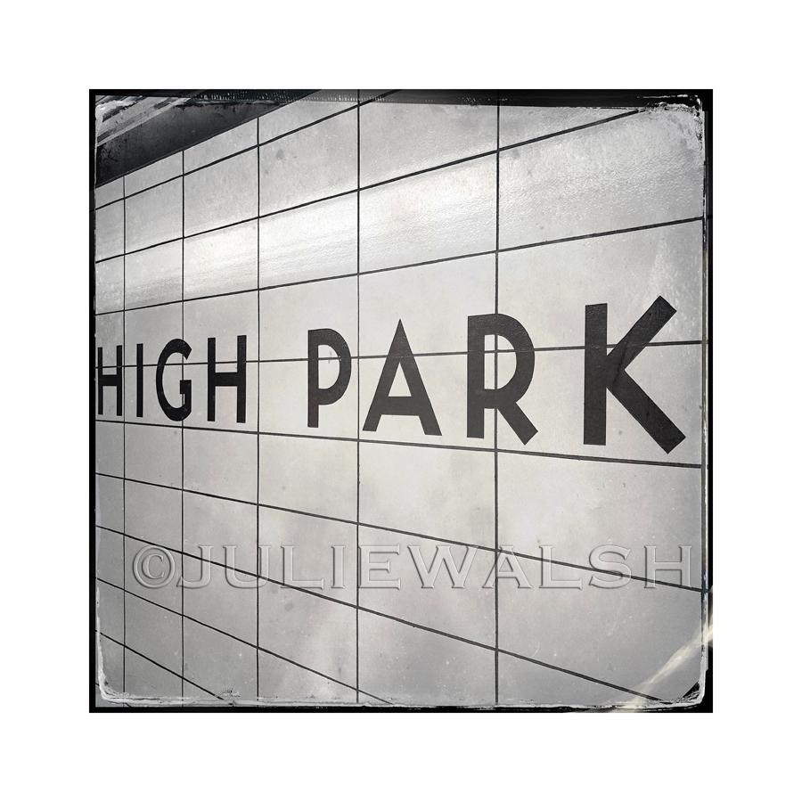 High Park Subway Station Photo Panel-Photo-WorkShopGallery
