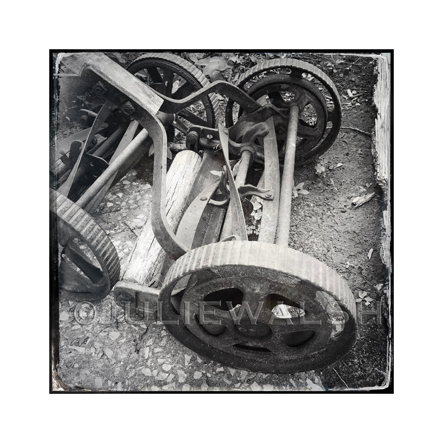 Lawn Mowers Photo Panel-Photo-WorkShopGallery