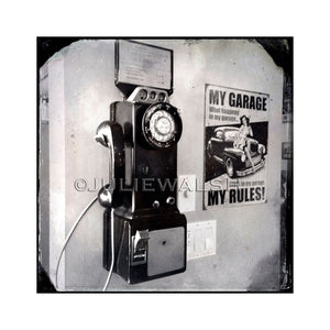 My Garage My Rules Photo Panel