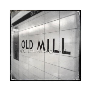 Old Mill Subway Station Photo Panel
