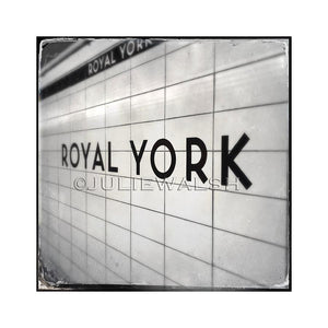 Royal York Subway Station Photo Panel