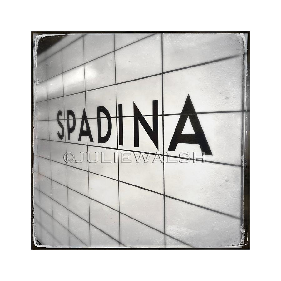 Spadina Subway Station Photo Panel