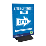 Enter/Exit Signage - Pull Up Banner & Coreflute Posters