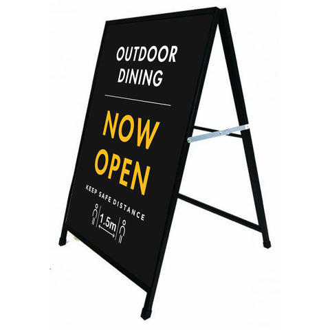 Outdoor Dining - Now Open A-FRAME