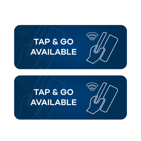 Tap & Go Available - Wall & Floor Stickers