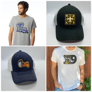 New Orleans Themed Clothing and Hats