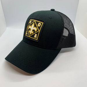 NOLA Mid Profile Trucker Black