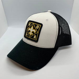 NOLA Mid Profile Trucker White/Black