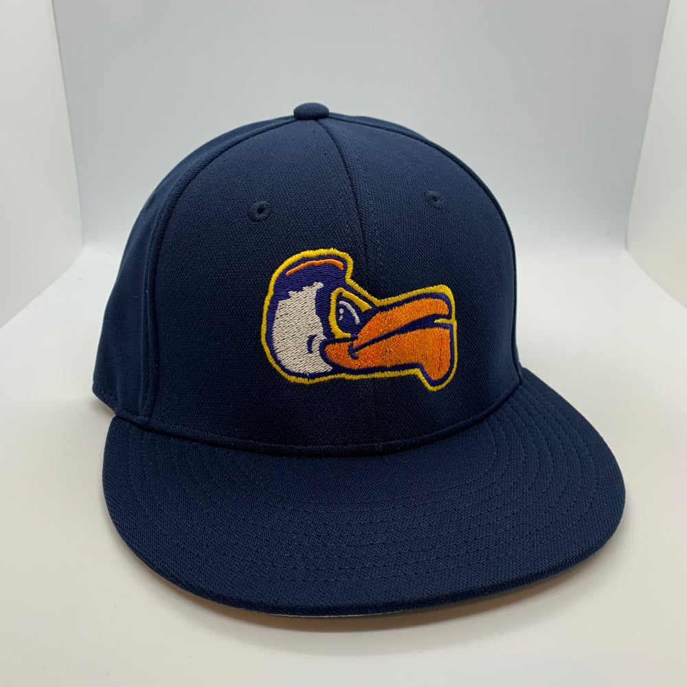 New Orleans Pelicans Pierre Fitted Flat Bill Navy