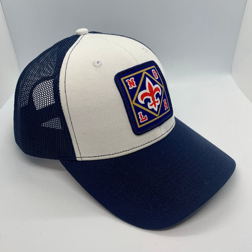 NOLA Mid Profile Trucker Hat Navy/White