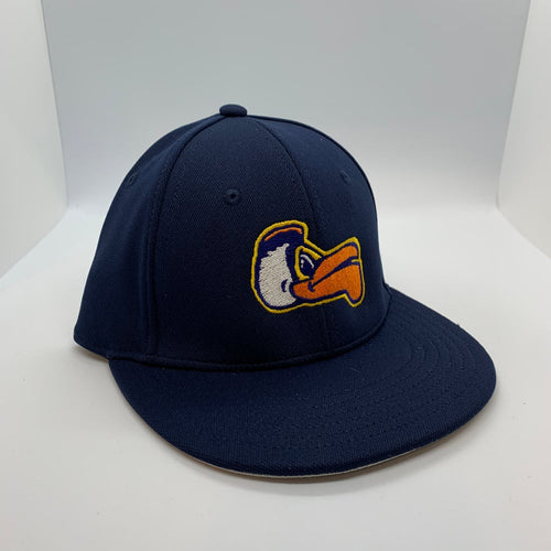 New Orleans Pelicans Kids Fitted Flat Bill Hat Navy