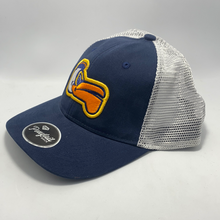 Load image into Gallery viewer, Women's Pelicans Ponytail Hat Navy