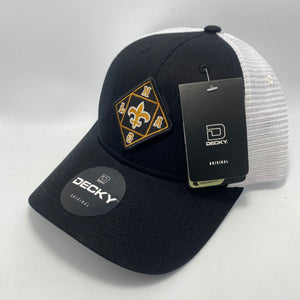 Saints Low Profile Trucker Hat