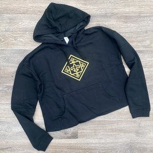 Women's NOLA cropped hooded Sweatshirt