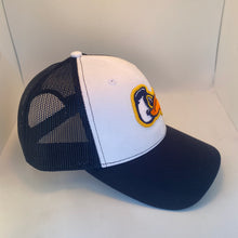 Load image into Gallery viewer, Pelicans Mid Profile Trucker Hat Navy/White