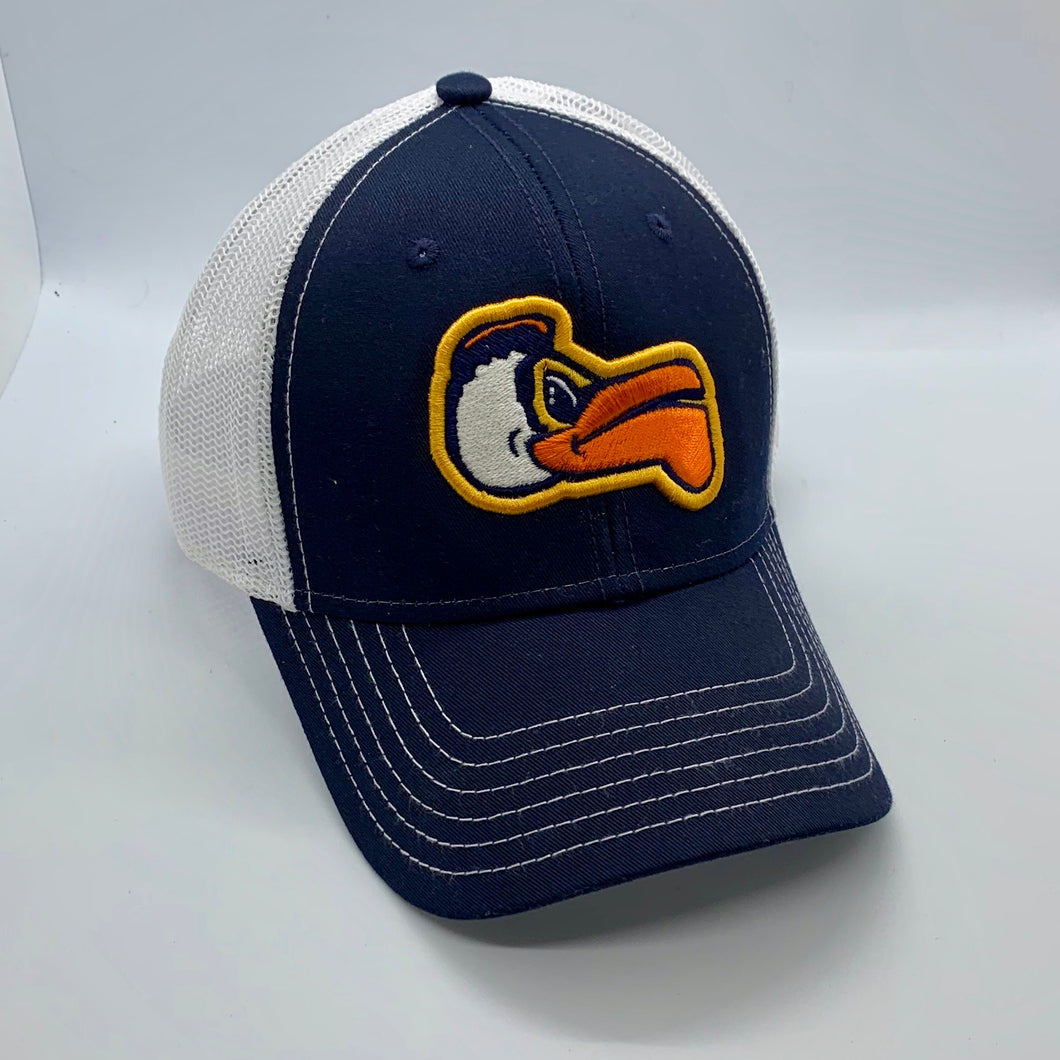 New Orleans Pelicans Low Profile Trucker Hat Navy/White