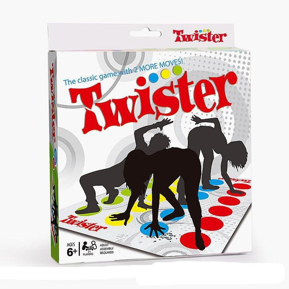 Twister Game Funny Kid Family Body Twister Move Mat Board Game Sport Toy