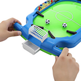 Mini Football Tabletop Arcade Game Funny Family Table Soccer Mini Interactive Toy for Home Office Desk Top