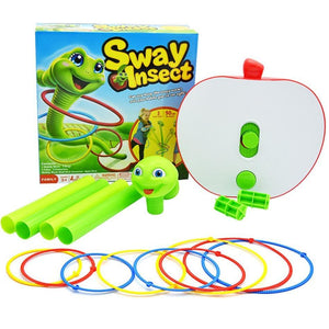 Funny Electrical Sway Insect Ferrule Games Indoor Sport Family Games Educational Toys Party Game For Children